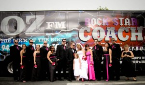 Rockstar wedding