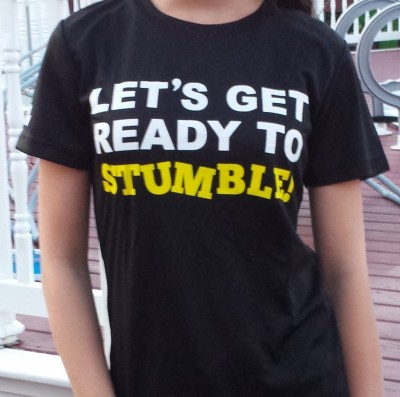 Stumble shirt faith
